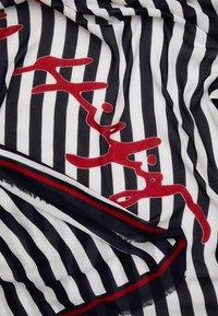 Tommy Hilfiger - SIGNATURE SQUARE - Tørklæde / Halstørklæder - dark blue/white/red - 1