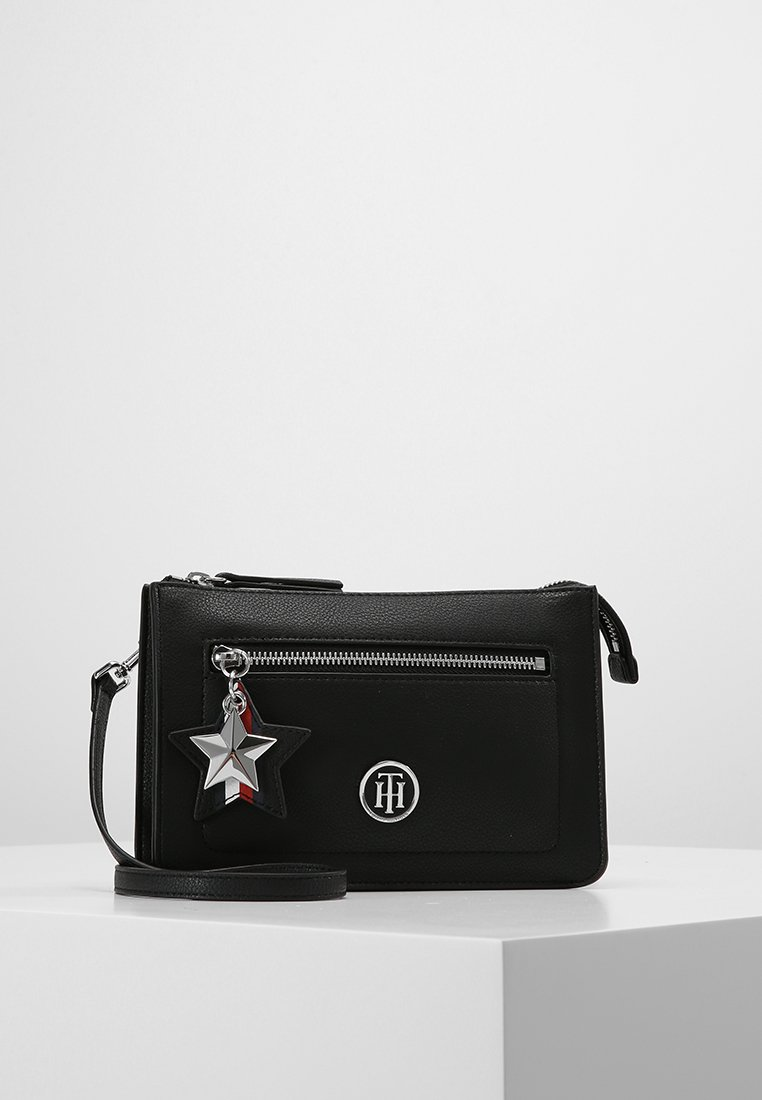 Tommy Hilfiger - CHARMING TOMMY CROSSOVER - Schoudertas - black