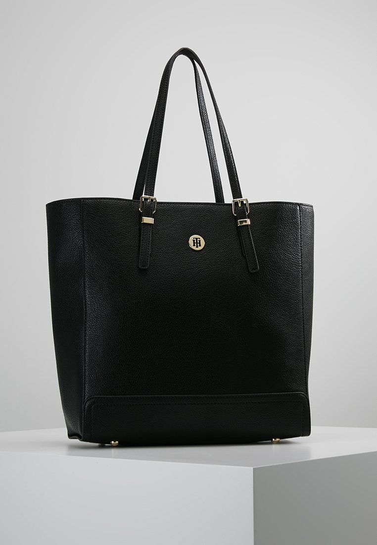 Tommy Hilfiger - HONEY FINEGRAIN WORK BAG - Notebooktasche - black
