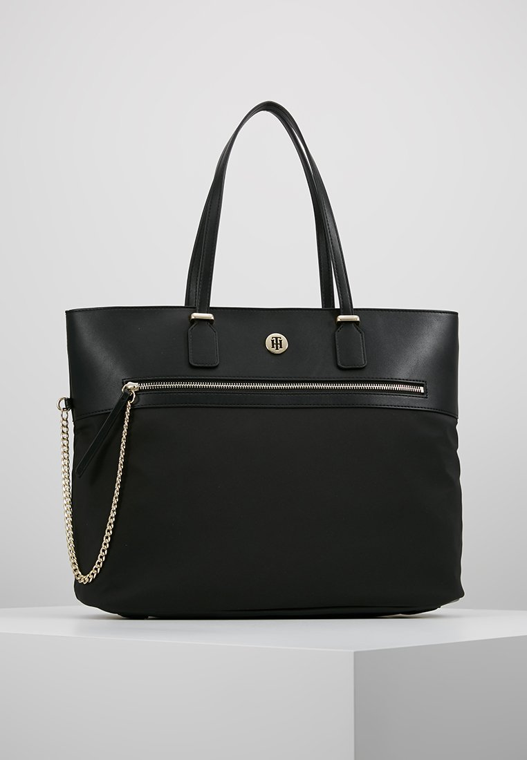 Tommy Hilfiger - CORE TOTE - Shopping bags - black