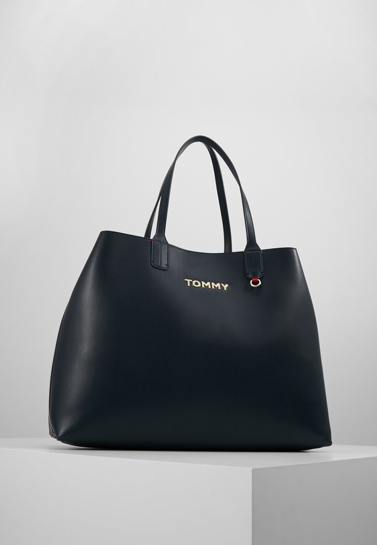 Tommy Hilfiger - ICONIC TOTE - Shopping bags - blue