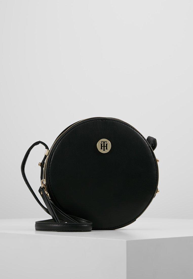 Tommy Hilfiger - MODERN HARDWARE ROUND  - Across body bag - black