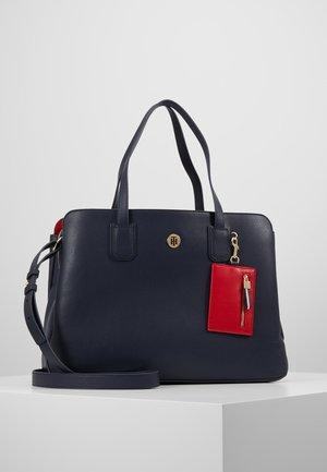 CHARMING WORK BAG SET - Laptop bag - blue