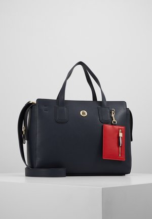 CHARMING TOMMY SATCHEL - Handbag - blue