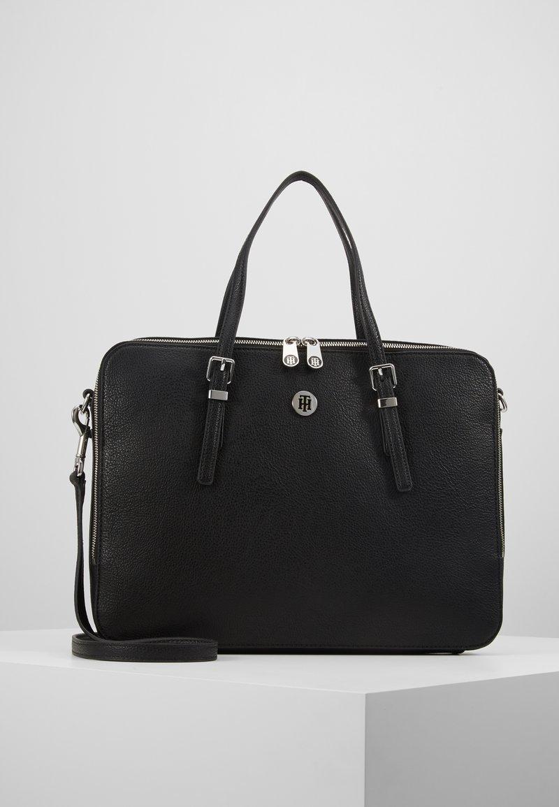 Tommy Hilfiger - HONEY COMPUTER BAG - Laptop bag - black