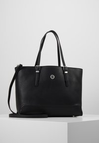 Tommy Hilfiger - HONEY MED TOTE - Håndveske - black - 0