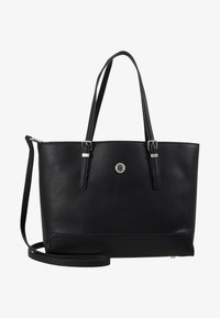 Tommy Hilfiger - HONEY MED TOTE - Håndveske - black - 6