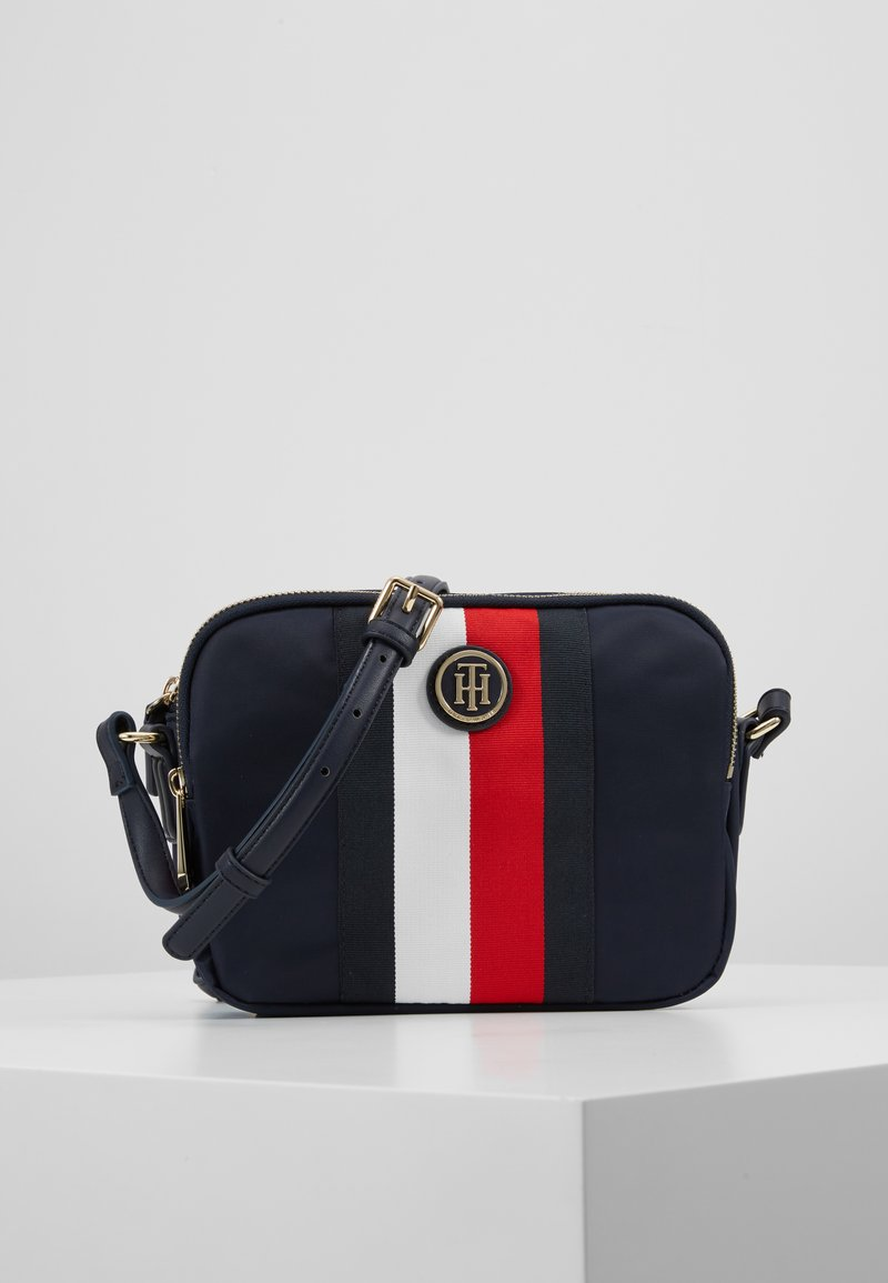 Tommy Hilfiger - POPPY CROSSOVER CORP - Across body bag - blue