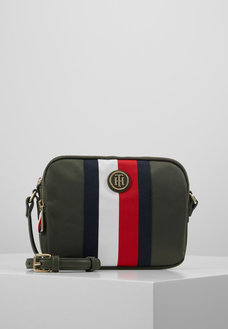 Tommy Hilfiger - POPPY CROSSOVER CORP - Schoudertas - grape leaf