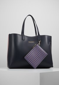Tommy Hilfiger - ICONIC TOTE SET - Shopping bags - blue - 6