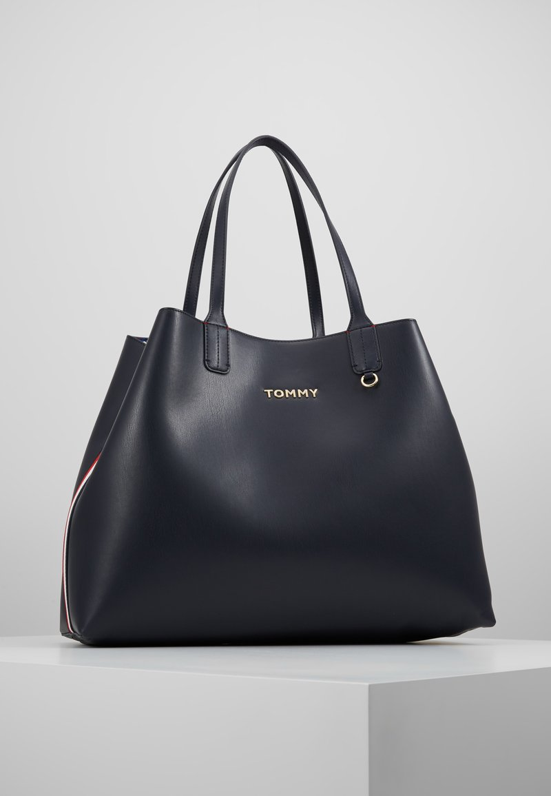 Tommy Hilfiger - ICONIC TOTE SET - Shopping bags - blue