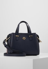 Tommy Hilfiger - CORE SATCHEL CORP - Sac à main - blue - 0