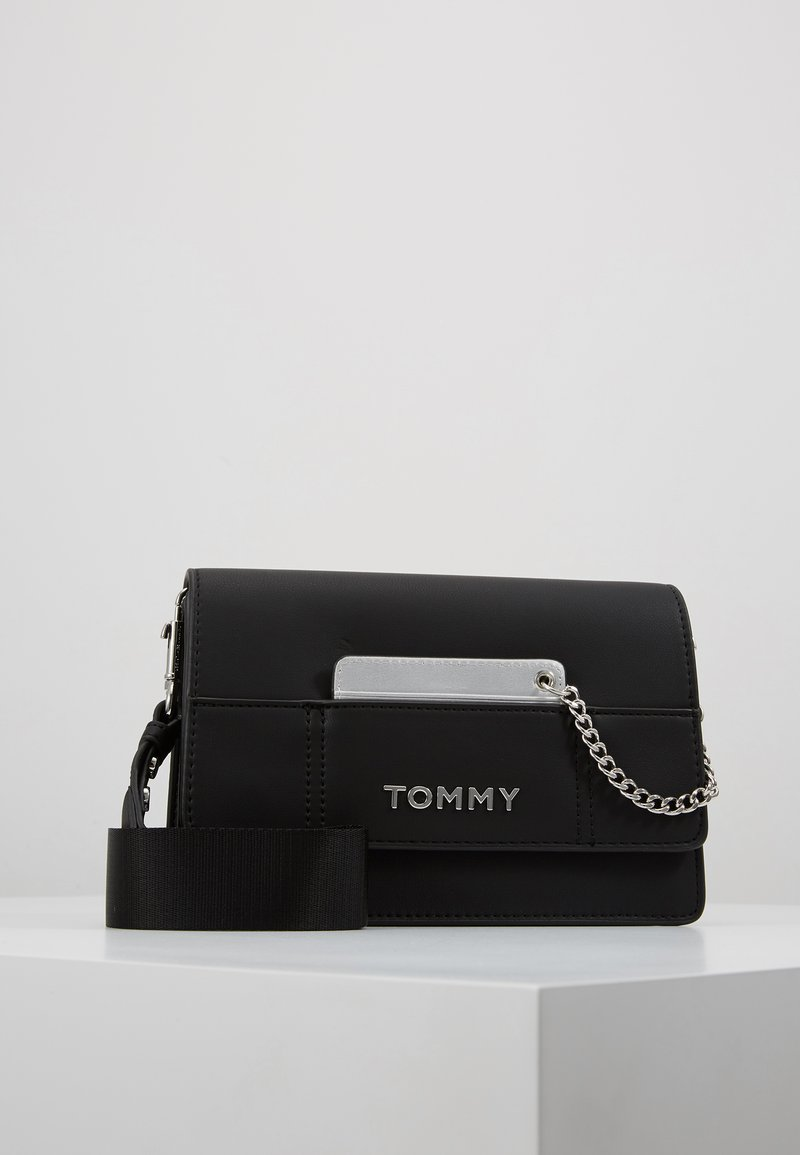 Tommy Hilfiger - ITEM STATEMENT CROSSOVER - Sac bandoulière - black