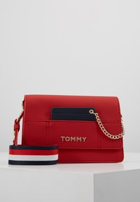 Tommy Hilfiger - ITEM STATEMENT CROSSOVER - Across body bag - multi - 0