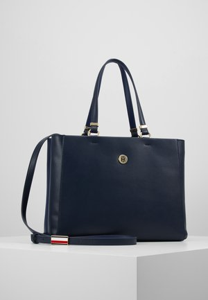 SMOOTH SATCHEL - Sac à main - dark blue
