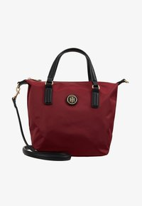 Tommy Hilfiger - POPPY SMALL TOTE SOLID - Borsa a mano - bordeaux - 5