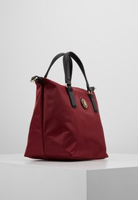 Tommy Hilfiger - POPPY SMALL TOTE SOLID - Borsa a mano - bordeaux - 3