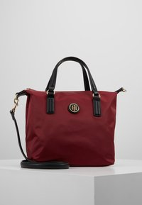 Tommy Hilfiger - POPPY SMALL TOTE SOLID - Borsa a mano - bordeaux - 0