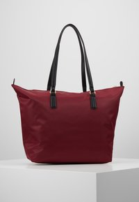 Tommy Hilfiger - POPPY TOTE SOLID - Handtas - red - 2