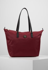 Tommy Hilfiger - POPPY TOTE SOLID - Handtas - red - 0