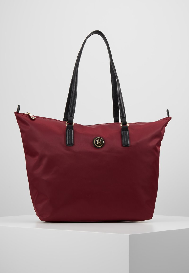 Tommy Hilfiger - POPPY TOTE SOLID - Handtas - red