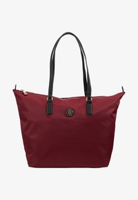 Tommy Hilfiger - POPPY TOTE SOLID - Handtas - red - 5