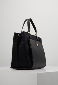 Tommy Hilfiger - ELEGANT TOTE QUILTED - Borsa a mano - black - 3