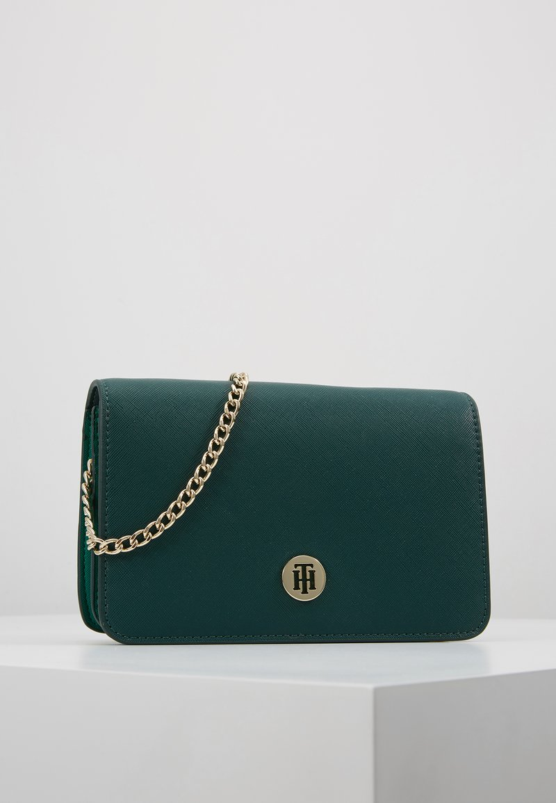 Tommy Hilfiger - HONEY CROSSOVER BOLD - Across body bag - green