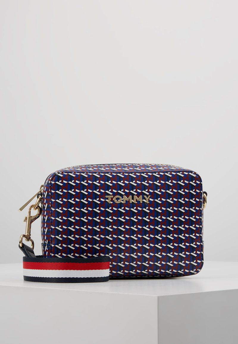 Tommy Hilfiger - ICONIC CROSSOVER MONO - Across body bag - blue