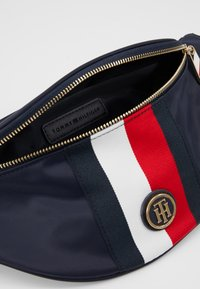 Tommy Hilfiger - POPPY BUMBAG - Bum bag - blue