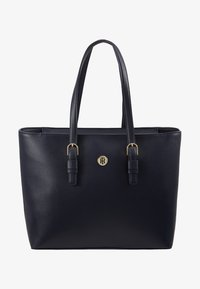 Tommy Hilfiger - CLASSIC SAFFIANO TOTE - Kabelka - blue - 5