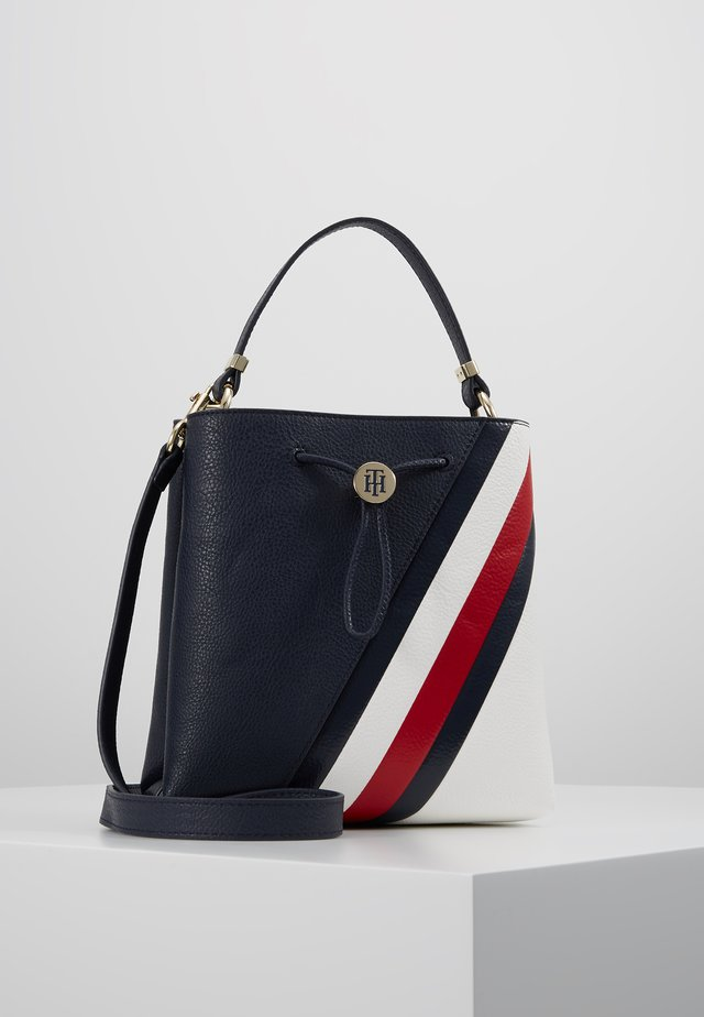 CORE MINI BUCKET - Handbag - blue