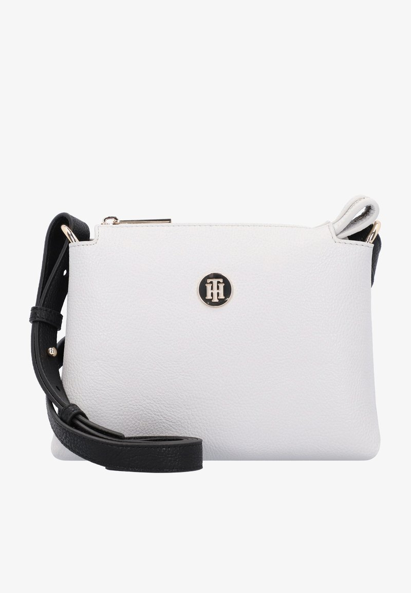 Tommy Hilfiger - CORE CROSSOVER - Across body bag - white-coloured