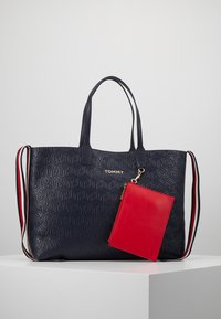Tommy Hilfiger - ICONIC TOTE - Tote bag - blue - 7