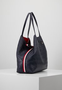 Tommy Hilfiger - ICONIC TOTE - Tote bag - blue - 3
