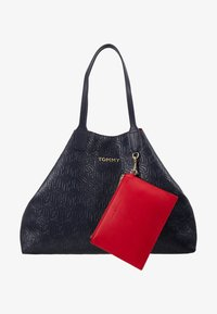 Tommy Hilfiger - ICONIC TOTE - Tote bag - blue - 8