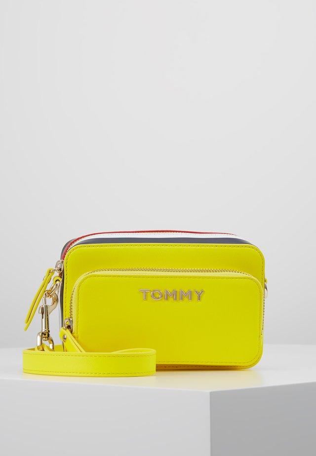 CORPORATE CAMERA BAG - Across body bag - yellow