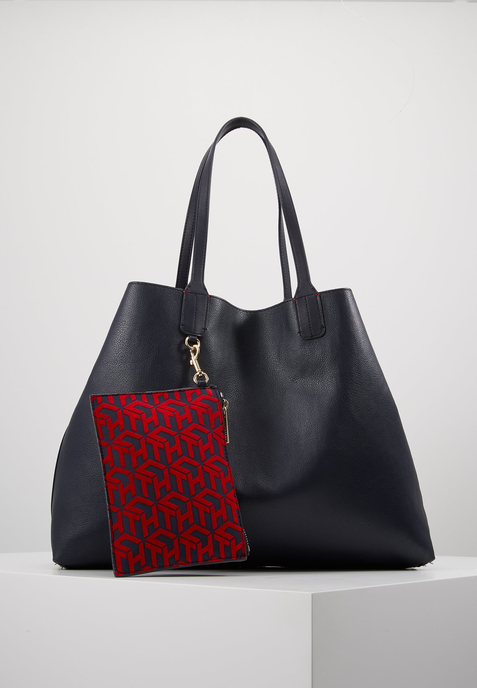 Tommy Hilfiger ICONIC TOTE SET - Shopping bags - red