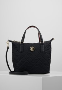 Tommy Hilfiger - POPPY SMALL TOTE - Håndveske - black - 0