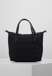 Tommy Hilfiger - POPPY SMALL TOTE - Håndveske - black - 2
