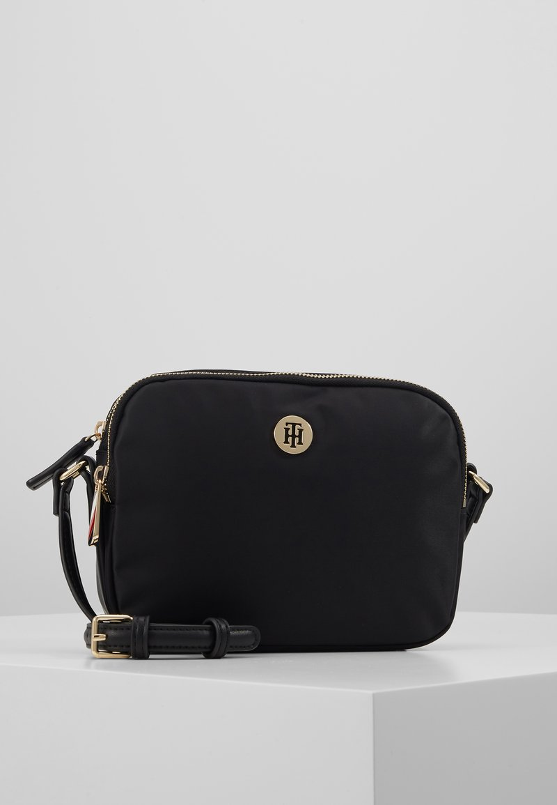 Tommy Hilfiger - POPPY CROSSOVER - Across body bag - black