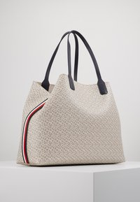 Tommy Hilfiger - ICONIC TOTE MONOGRAM - Shopping Bag - beige - 3