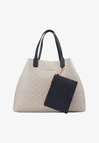 Tommy Hilfiger - ICONIC TOTE MONOGRAM - Shopping Bag - beige - 1
