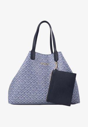 ICONIC TOTE MONOGRAM - Shoppingveske - blue