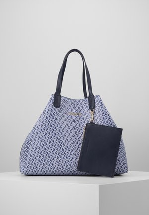ICONIC TOTE MONOGRAM - Shopper - blue
