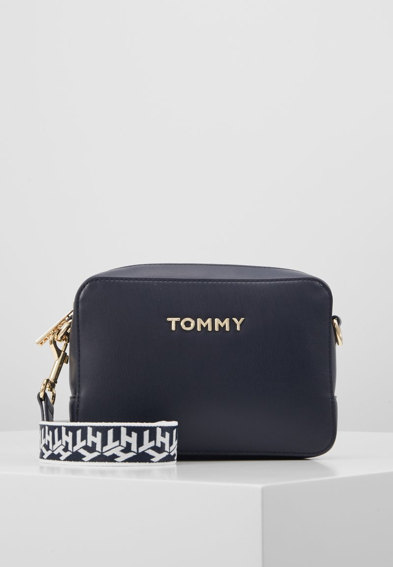 Tommy Hilfiger - ICONIC CAMERA BAG - Across body bag - blue