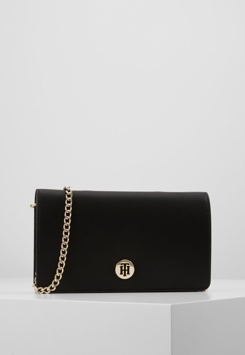 Tommy Hilfiger - HONEY MINI CROSSOVER - Torba na ramię - black