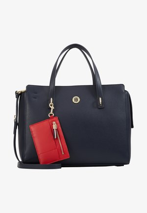 CHARMING SATCHEL - Handbag - blue