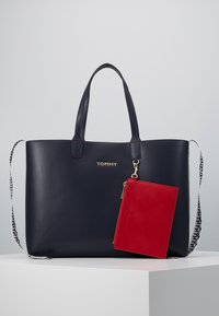 Tommy Hilfiger - ICONIC TOTE SET - Shopping bag - blue - 3