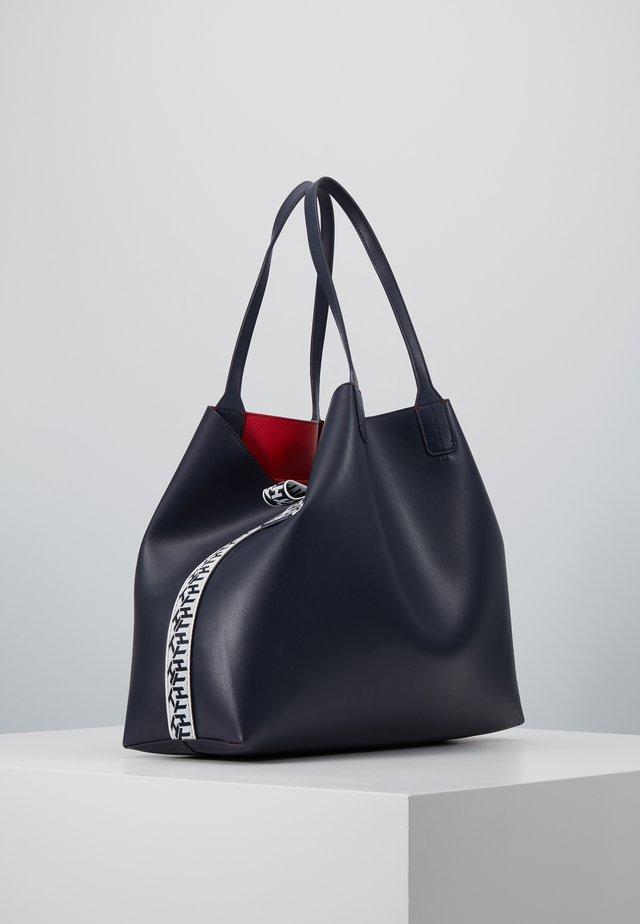 ICONIC TOTE SET - Tote bag - blue